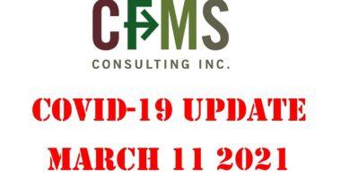 CFMS Convid19 Update